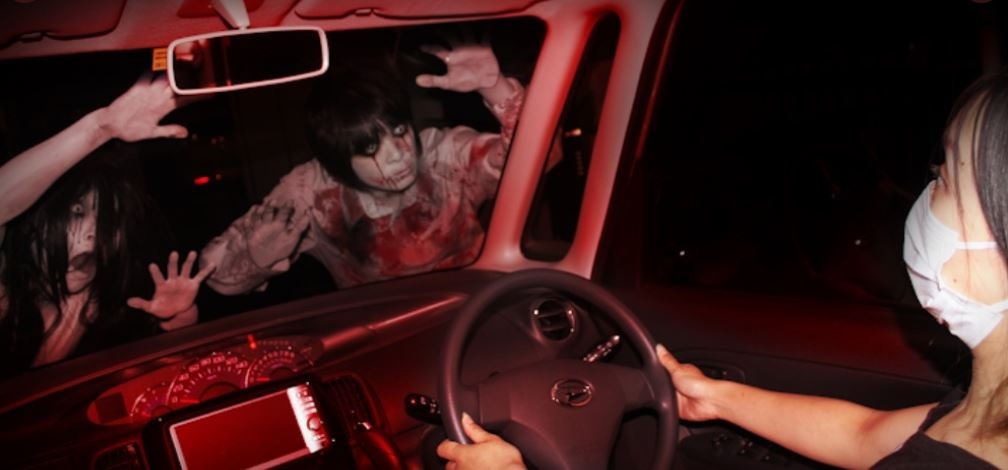 covid-19 drive-in haunted house 2